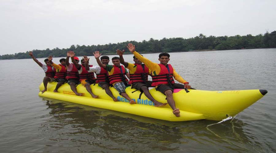 Water sports in Panshet