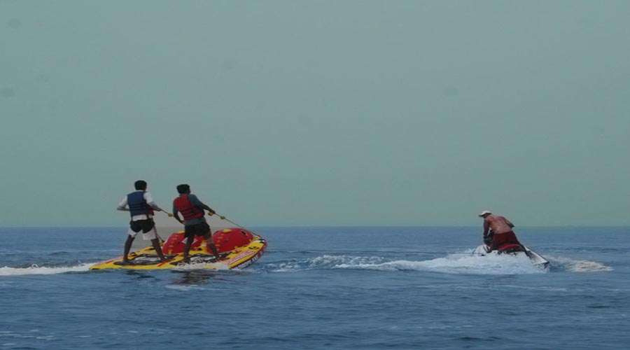 Water sports in Murud Janjira