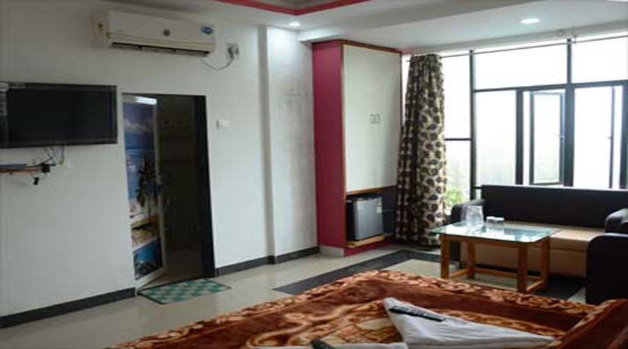 Ac rooms in ganpatipule