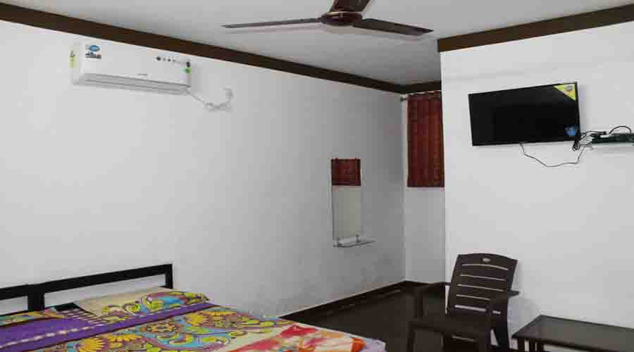 Ac room in alibaug