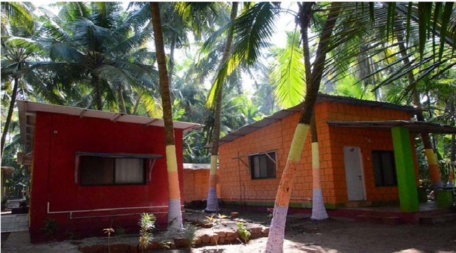 Garva Beach Resort  in kolthare at hotelinkonkan.com
