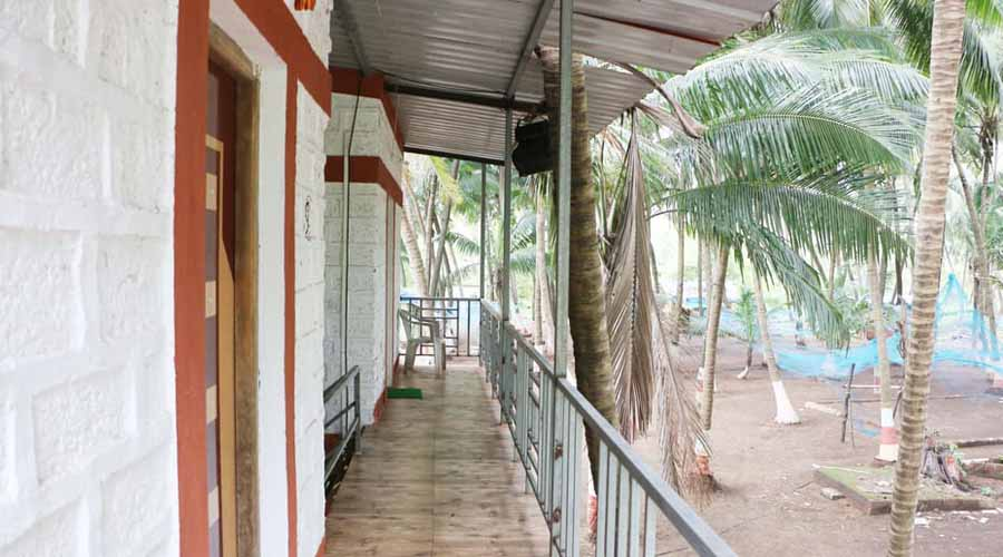Garmbi Beach Resort in murud at hotelinkonkan.com