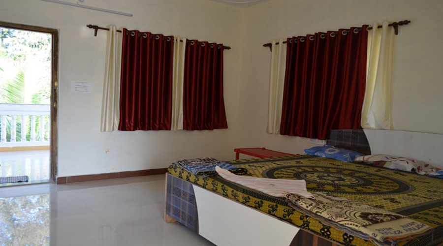 Dormitory room of Sahyadri Tourist Home