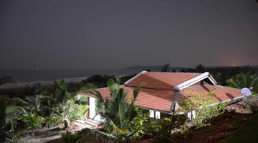 hotels in ganpatipule Beach Front Villas  resorts in ganpatipule maharashtra hotelsinkonkan.in