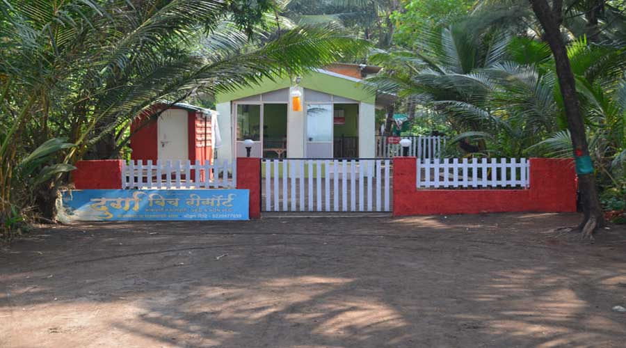 Durga Beach Resort in murud at hotelinkonkan.com