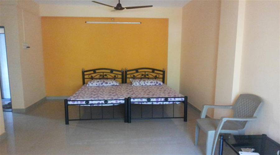 2 beded room in ganpatipule