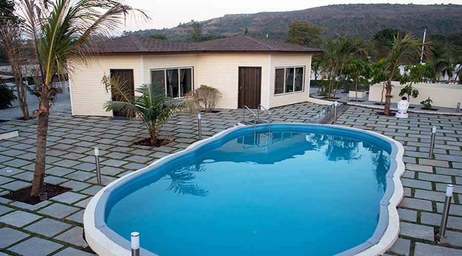 Sorina hillside resort in sinhagad rooms rates photos - Resorts in diveagar with swimming pool ...