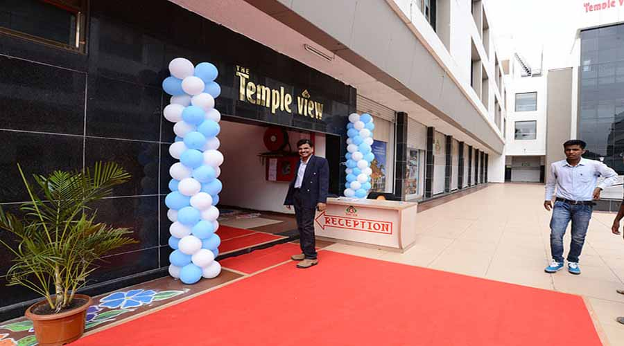 The Temple View Hotel in shirdi at hotelinkonkan.com