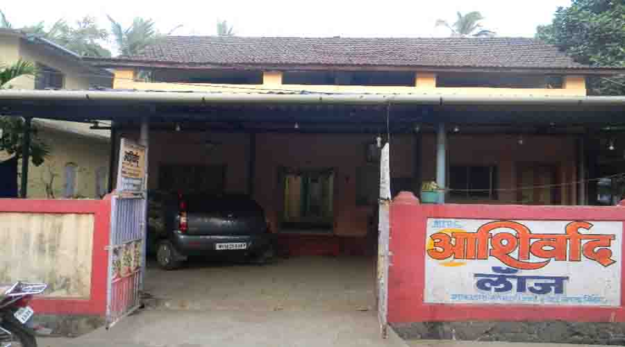 Ashirwad lodge in shrivardhan rooms rates photos map - Resorts in diveagar with swimming pool ...