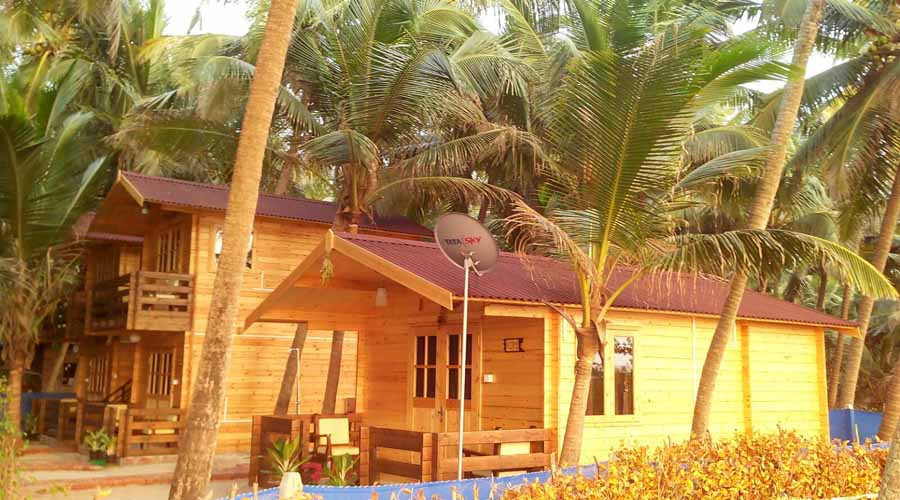 Samant Beach Cottage Kundura at hotelinkonkan.com
