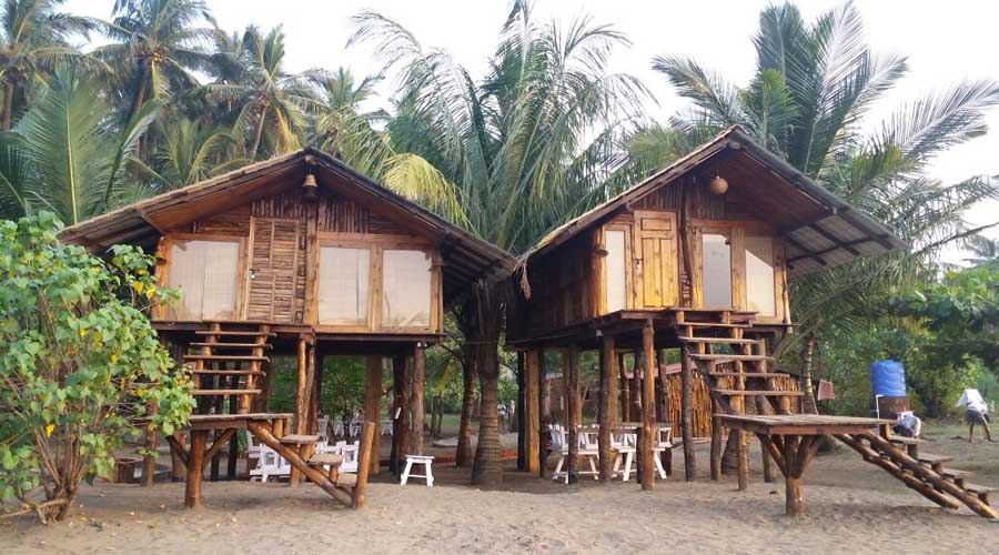 Non ac cottages in alibuag