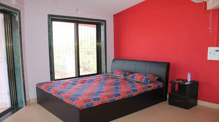 Non Ac room in bungalow dapoli