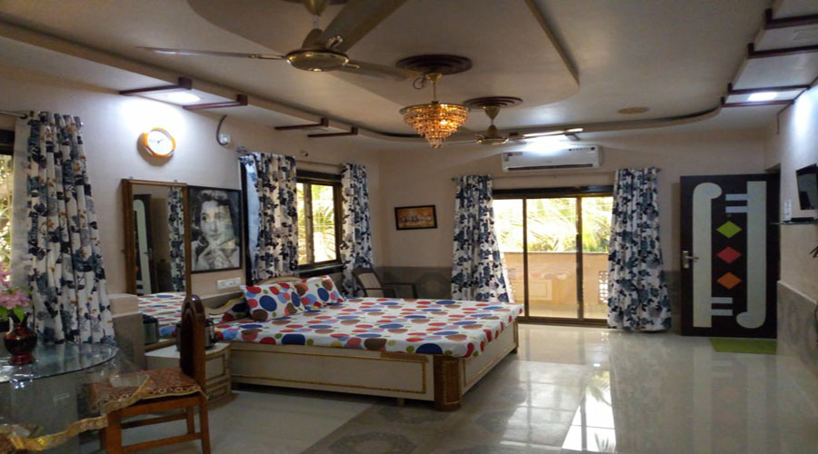 Deluxe ac room in alibaug